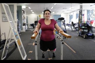 Clara weight bearing with double bars