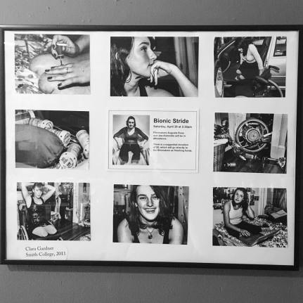 Photographic display for the premiere